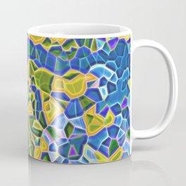 Sea sunset realistic mozaic print Coffee Mug