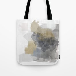 Grey Introspective in a white room Tote Bag