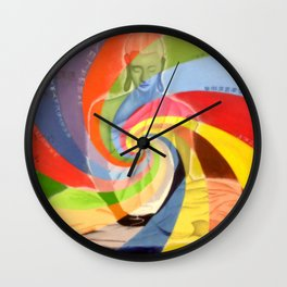 Serenity of Buddha Wall Clock
