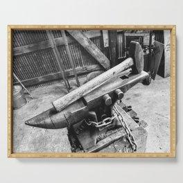 Blacksmith's Anvil Serving Tray