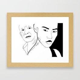 People. Framed Art Print