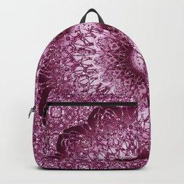 Cabernet Lace Mandala Backpack
