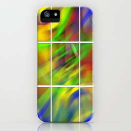 colourful abstraction iPhone Case