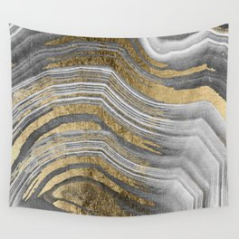 Abstract paint modern Wall Tapestry