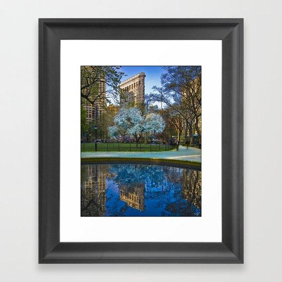 Spring In Manhattan Framed Art Print