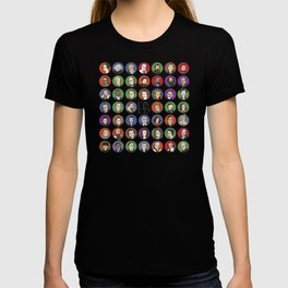 Portraits of Important Scientists T-shirt