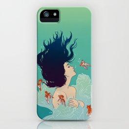 Underwater Lady iPhone Case