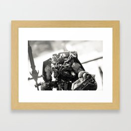 """""""Knights. Autobots. This cannot & will not be the end"""" Framed Art Print"""