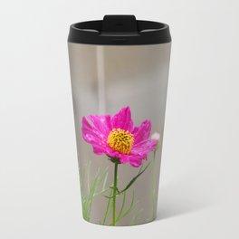 Fuchia wild flower Travel Mug