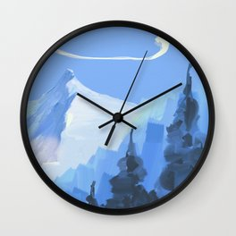 montain Wall Clock