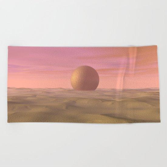 Desert Dream of Geometric Proportions Beach Towel