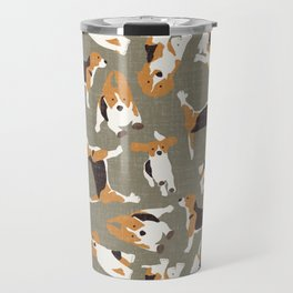 beagle scatter stone Travel Mug