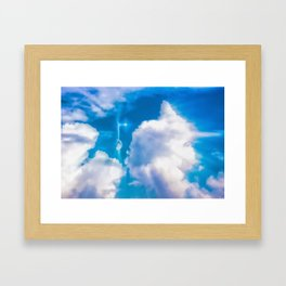 A Wonderful New Day Framed Art Print