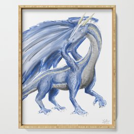 Blue Dragon Serving Tray