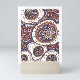 Wandering 06: color variation 1 Mini Art Print