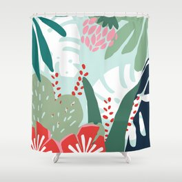 Aqua Paradise Shower Curtain