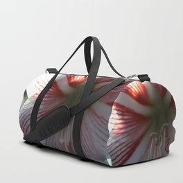 Botanical Gardens - Red Orchid #175 Duffle Bag