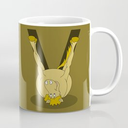 Monogram V Pony Coffee Mug