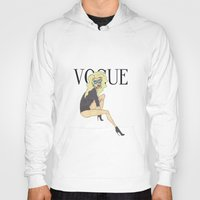 vogue Hoodies featuring VOGUE by LydiaSchüttengruber