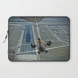 Flap fail landing Laptop Sleeve