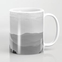 Misty mountains. Yesterday at sunset Coffee Mug