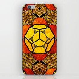 Sacred Geometry for your daily life -  Platonic Solids - ETHER COLOR iPhone Skin
