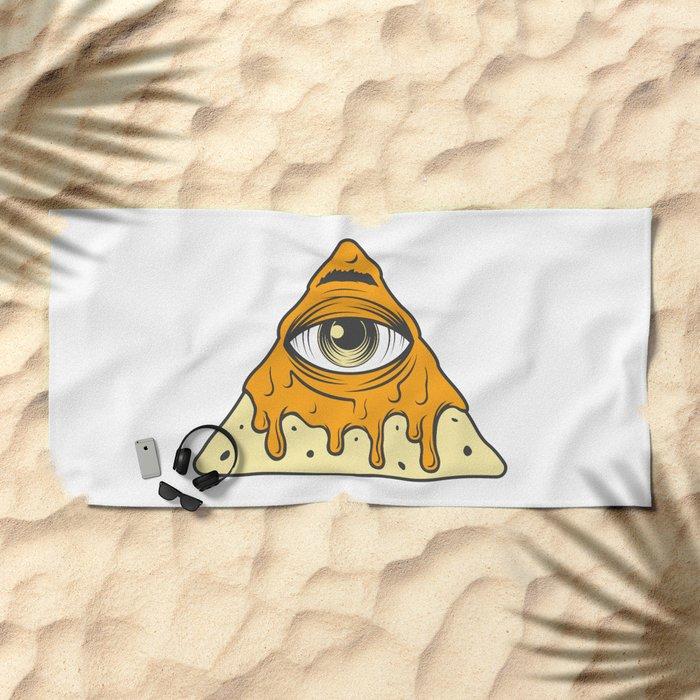 Illuminacho Beach Towel