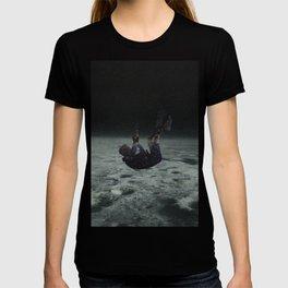 Falling space man T-shirt
