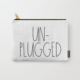 Unplugged Carry-All Pouch