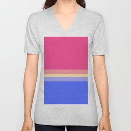 Summer Ice Cream - Favourite Palettes Series Unisex V-Neck