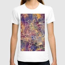 Leeuwarden Netherlands City Map T-shirt