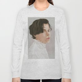 Harry Styles Illustration (One Direction) Long Sleeve T-shirt