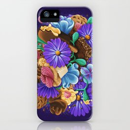 SWEETS & FLOWERS iPhone Case