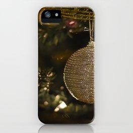 Christmas sphere iPhone Case
