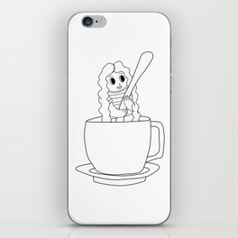 Biondina Caffè iPhone Skin