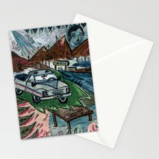 I'd Like To Stay / Someone's Disappearance 2 Stationery Cards
