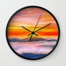 Ardor planet story beginning Wall Clock