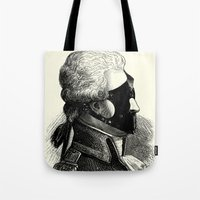 bdsm Tote Bags featuring BDSM XXXI by DIVIDUS