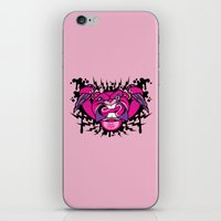 beaver iPhone & iPod Skins featuring Evil Beaver by harebrained