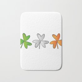 Shamrock Irish St Patricks Day Bath Mat