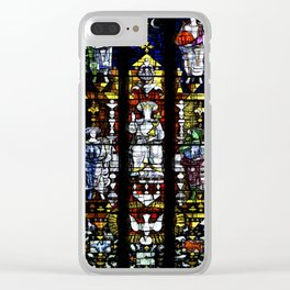 St Mary's Window Clear iPhone Case