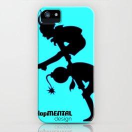 Head-Hop Hiatus iPhone Case