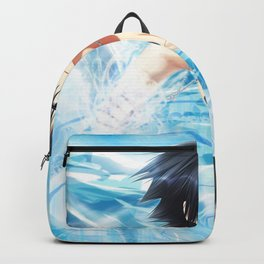 gray blow of ice Backpack