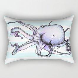Floating Octopus Rectangular Pillow
