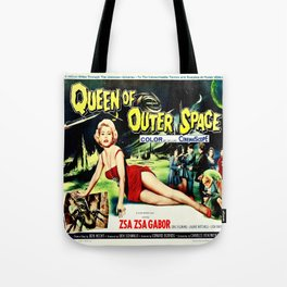 Queen of Outer Space Tote Bag