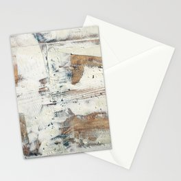 Wood planks epoxy resin repairing shipboard texture Stationery Cards