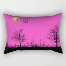 Pink panorama Rectangular Pillow