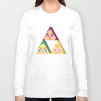 triforce Long Sleeve T-shirts featuring triforce! by Spencer Duffy