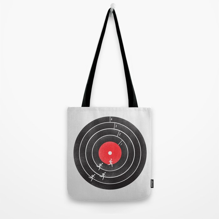 Vinyl Running Tote Bag