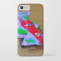 car iPhone & iPod Cases featuring car by aticnomar